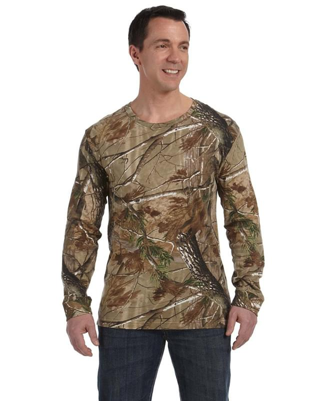 Men's Realtree Long-Sleeve Camo T-Shirt