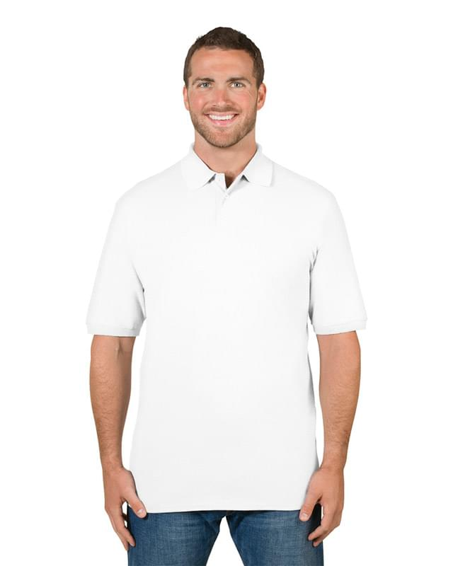 Adult 6.5 oz. Premium 100% Ringspun Cotton Piqu Polo