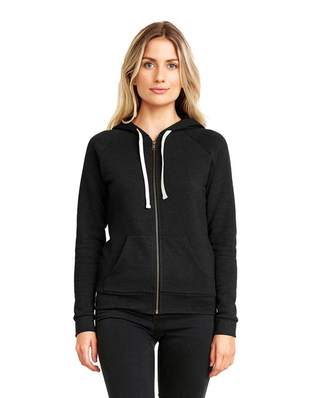 Ladies' PCH Raglan Zip Hoody