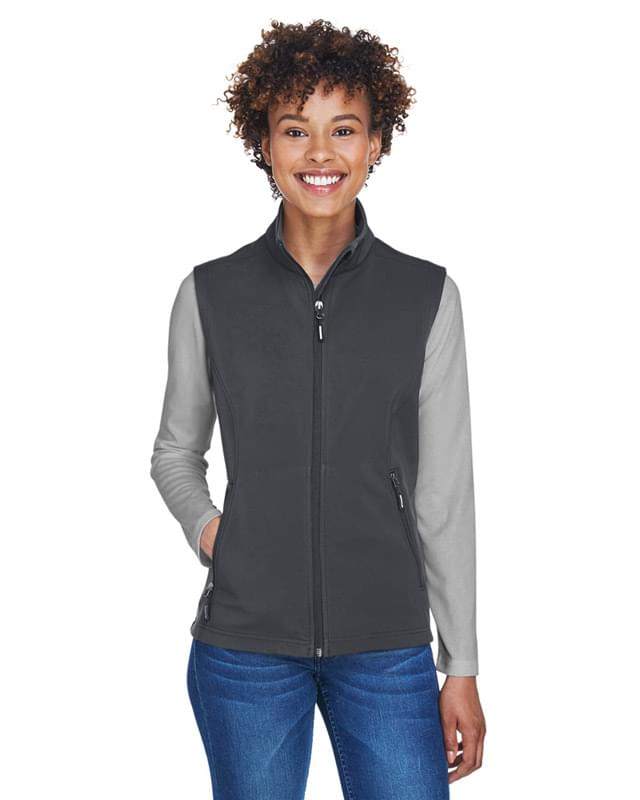 Ladies' Cruise Two-Layer Fleece Bonded SoftShell Vest