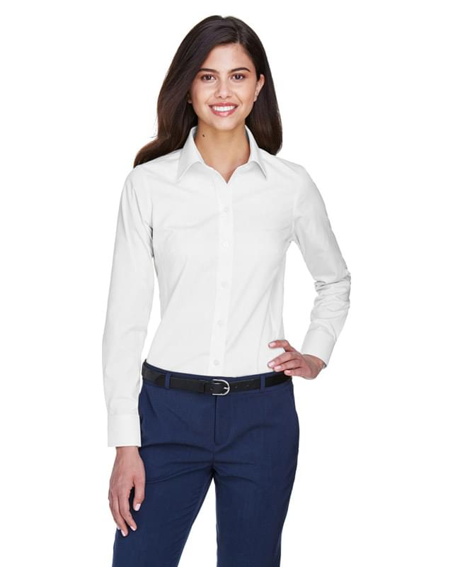 Ladies' Crown Woven Collection Solid Oxford