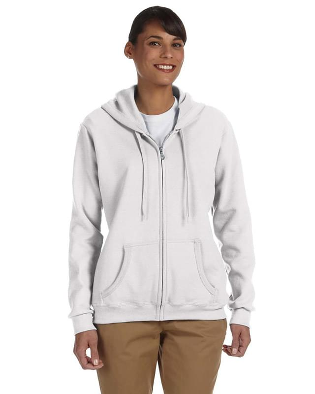 Ladies' Heavy Blend Ladies' 8 oz., 50/50 Full-Zip Hood