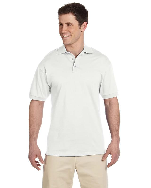 Adult 6.1 oz. Heavyweight Cotton Jersey Polo