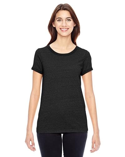 Ladies' Ideal Eco Mock Twist Ringer T-Shirt