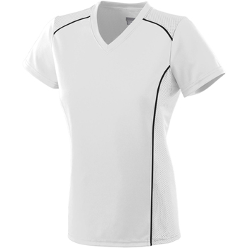 Ladies Wicking Polyester Short-Sleeve T-Shirt