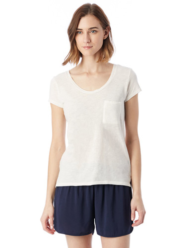 Ladies' Washed Slub Favorite T-Shirt