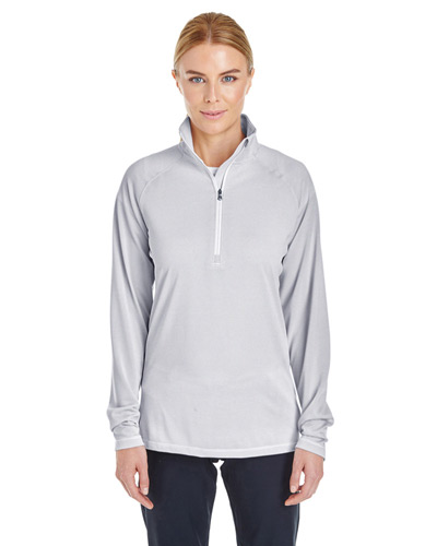 Ladies' Tech Stripe Quarter Zip