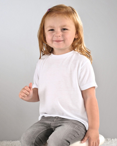 Toddler SubliVie Toddler Sublimation Polyester T-Shirt
