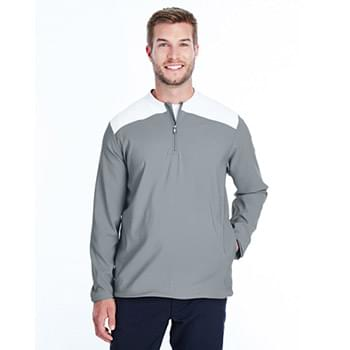 Men's Corporate Triumph Cage Quarter-Zip Pullover