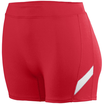 Girls Wicking Poly/Span Short