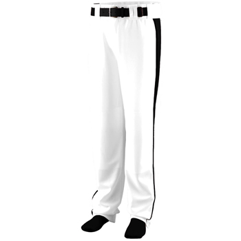 Adult Polyester Relaxed Fit Baseball Pant