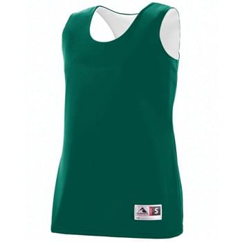 Ladies Wicking Polyester Reversible Sleeveless Jersey