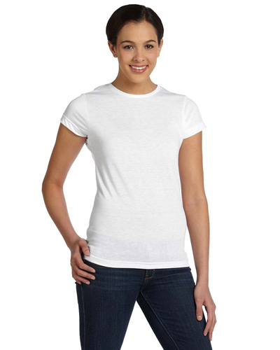 Ladies' SubliVie Ladies' Junior Fit Sublimation Polyester T-Shirt