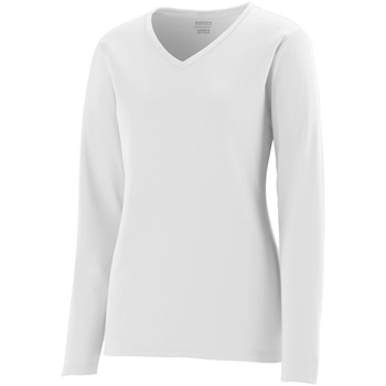Girls' Wicking Long-Sleeve T-Shirt