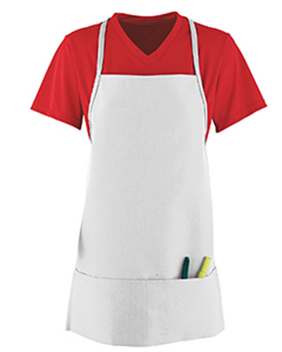 Unisex Medium Apron With Pouch