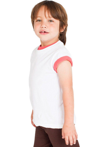 Toddler Organic Fine Jersey Short-Sleeve T-Shirt