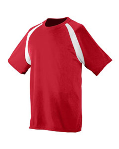 Youth Polyester Wicking Colorblock Jersey