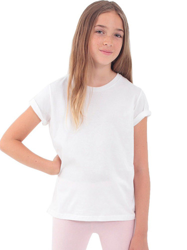 Youth Organic Fine Jersey Short-Sleeve T-Shirt