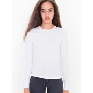 Ladies' Fine Jersey Long Sleeve Tee