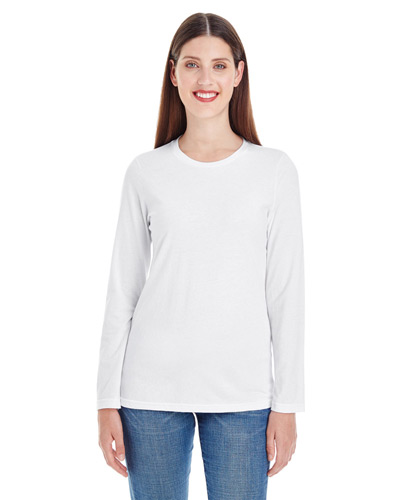 Ladies' Fine Jersey Classic Long-Sleeve T-Shirt