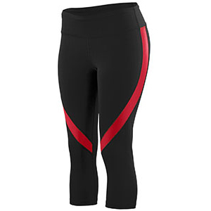 Ladies Tall Wicking Poly/Span Capri