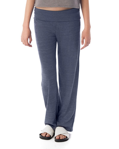 Ladies' Fold Over Eco-Jersey Pants