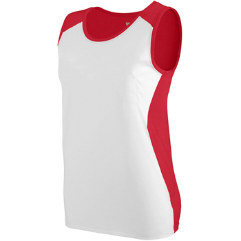 Ladies Wicking Poly/Span Mesh Racerback Jersey