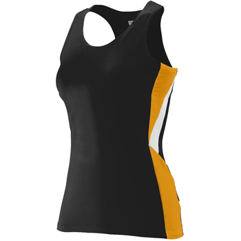 Ladies Wicking Poly/Span Racerback Jersey