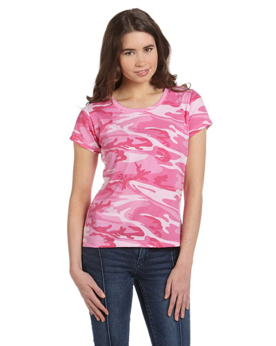Ladies' Camo T-Shirt