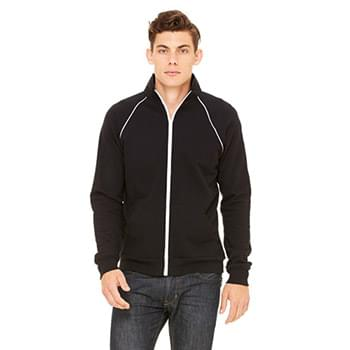 Men's Piped Fleece Jacket