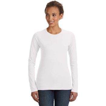 Ladies' Lightweight Fitted Long-Sleeve T-Shirt