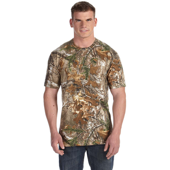 Officially Licensed REALTREE Camouflage Pocket T-Shirt