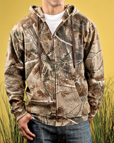 Men's REALTREE Camo Zip Fleece Hoodie