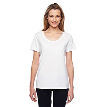 Ladies' 4.5 oz. X-Temp Performance V-Neck