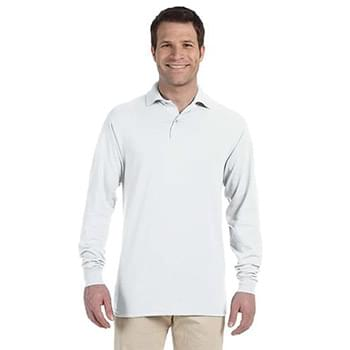 Adult 5.6 oz. SpotShield Long-Sleeve Jersey Polo