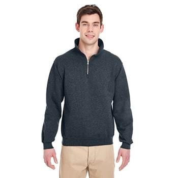 Adult 9.5 oz. Super Sweats NuBlend Fleece Quarter-Zip Pullover