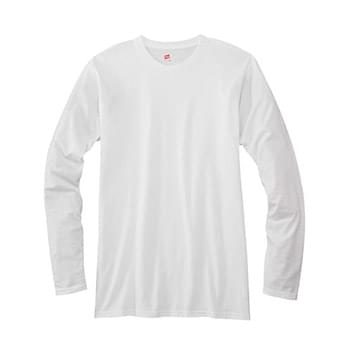 Adult 4.5 oz., 100% Ringspun Cotton nano-T Long-Sleeve T-Shirt