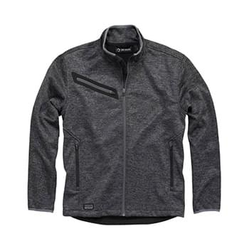 Atlas Bonded Mlange Sweater Fleece Jacket