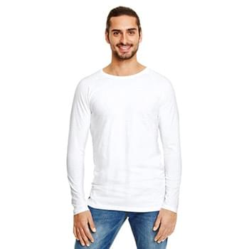 Adult Lightweight Long & Lean Raglan Long-Sleeve T-Shirt