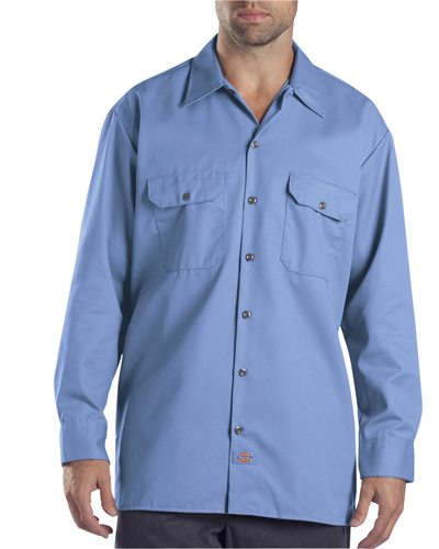 Unisex Tall Long-Sleeve Work Shirt