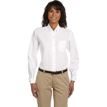 Ladies' Classic Long-Sleeve Oxford