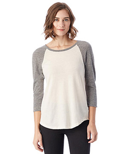 Ladies' Eco-Jersey Raglan Baseball T-Shirt
