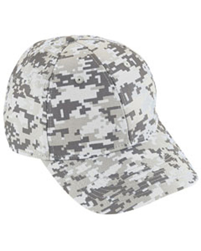 Adult Digi Camo Cotton Twill Cap