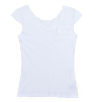 Ladies' Sheer Jersey 2 Sided Top