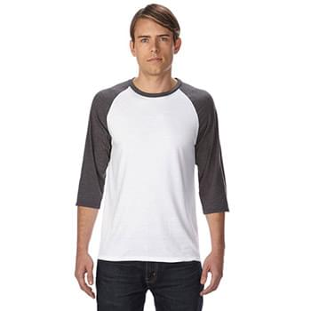 Adult Triblend 3/4-Sleeve Raglan T-Shirt