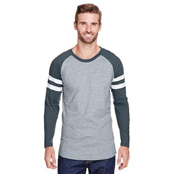 Men's Gameday Mash-Up Long Sleeve Fine Jersey T-Shirt