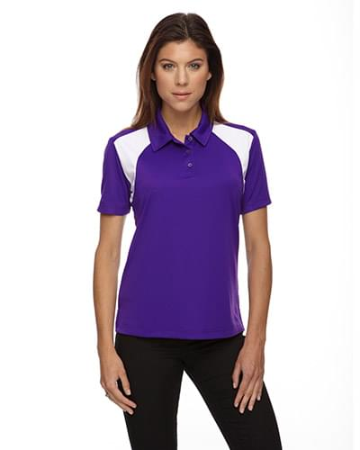 Ladies' Eperformance Colorblock Textured Polo