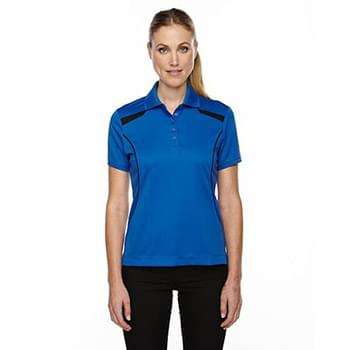 Ladies' Eperformance' Tempo Recycled Polyester Performance Textured Polo