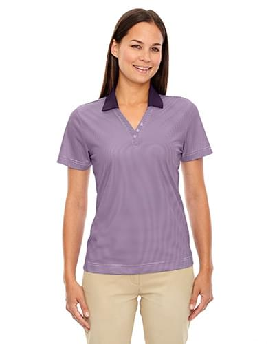 Ladies' Eperformance Launch Snag Protection Striped Polo