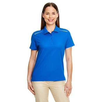 Ladies' Radiant Performance Piqu Polo with Reflective Piping